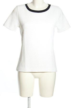 Hugo Boss T-Shirt weiß-schwarz Casual-Look