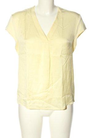 Hugo Boss T-Shirt blassgelb Business-Look