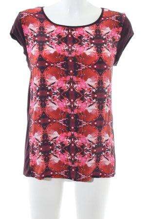 Hugo Boss T-Shirt abstraktes Muster Casual-Look