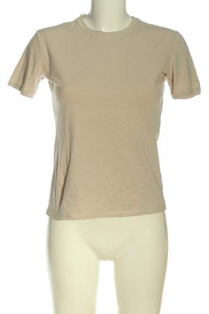 Hugo Boss T-Shirt wollweiß Casual-Look