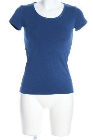 Hugo Boss T-Shirt blau Casual-Look
