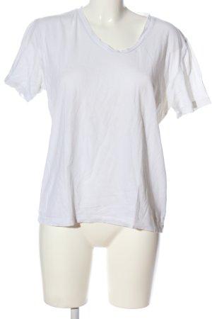 Hugo Boss T-Shirt weiß Casual-Look