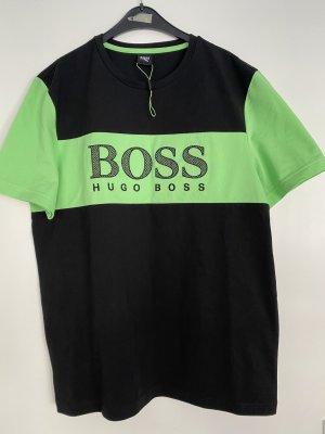 Hugo Boss T-shirt nero-menta