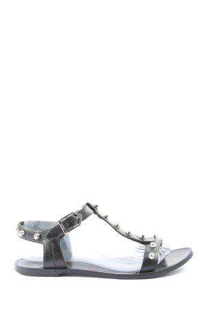 Hugo Boss T-Steg-Sandaletten schwarz Casual-Look