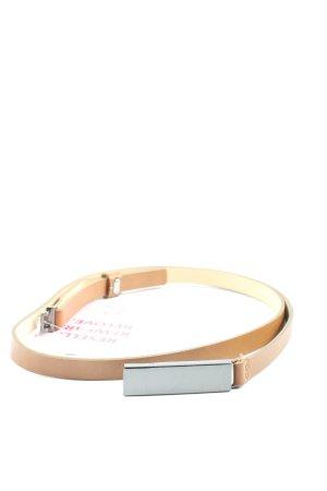 Hugo Boss Waist Belt bronze-colored casual look