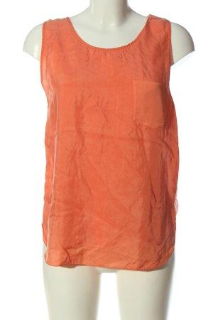Hugo Boss Tanktop licht Oranje casual uitstraling