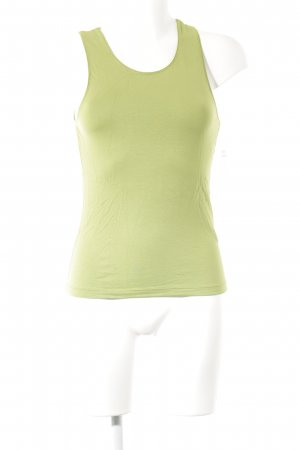 Hugo Boss Tanktop grasgrün Casual-Look