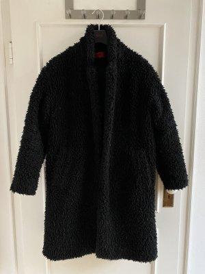 Hugo Boss Oversized Coat black