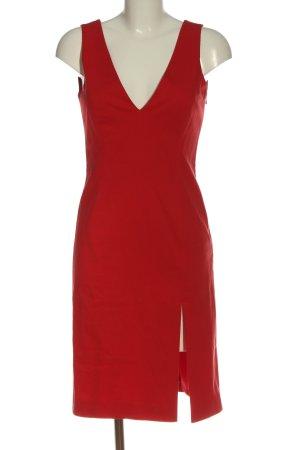 Hugo Boss Trägerkleid rot Elegant