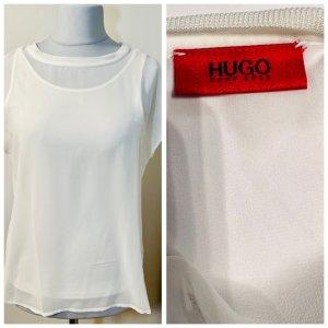 HUGO Hugo Boss Haut en soie crème