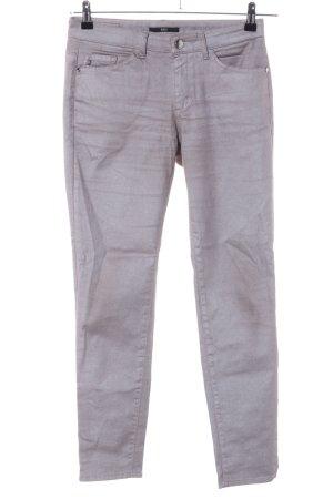 Hugo Boss Treggings grigio chiaro stile casual