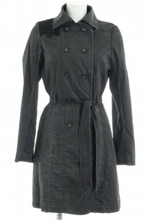 Hugo Boss Trenchcoat dunkelgrau Casual-Look