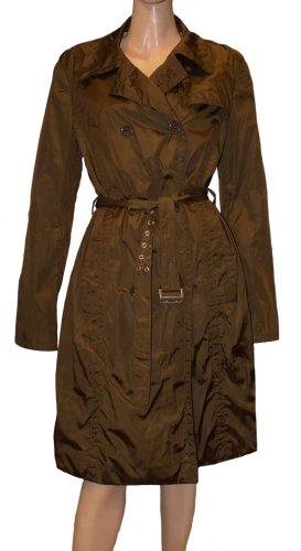 HUGO BOSS Trenchcoat Mantel bronzebraun oliv Gr. 42