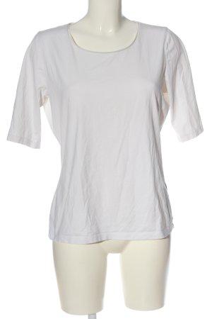 Hugo Boss U-Boot-Shirt weiß Casual-Look
