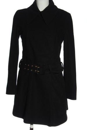 Hugo Boss Between-Seasons-Coat black business style