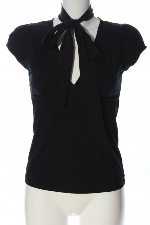 Hugo Boss Koszulka z dekoltem w kształcie litery V czarny W stylu casual