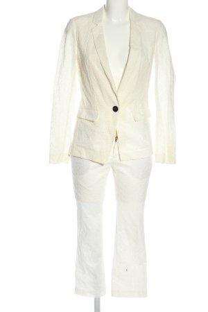 Hugo Boss Twin Set tejido blanco look casual