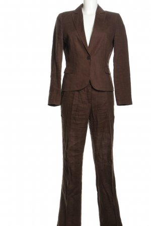 Hugo Boss Trouser Suit brown business style