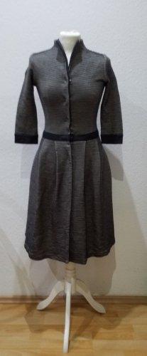 Hugo Boss Robe en laine blanc-gris