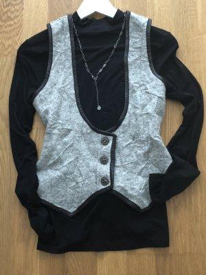 Hugo Boss Knitted Vest grey