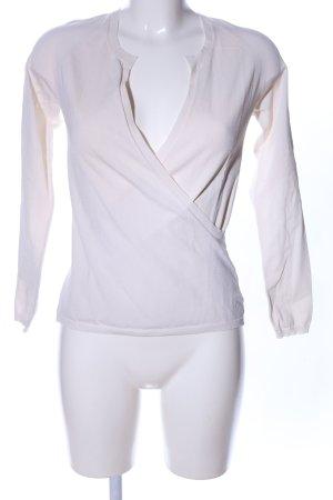 Hugo Boss Wraparound Blouse natural white casual look