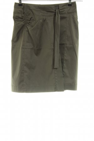 Hugo Boss Wraparound Skirt olive green casual look