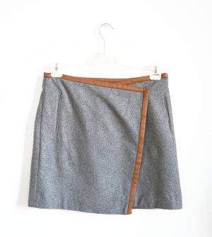 Hugo Boss Wollen rok grijs-bruin Wol