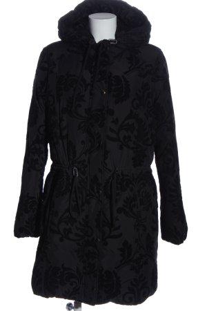 Hugo Boss Veste d'hiver noir imprimé allover style décontracté
