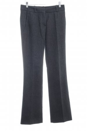 Hugo Boss Wollhose anthrazit Business-Look