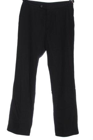 Hugo Boss Pantalón de lana negro estilo «business»
