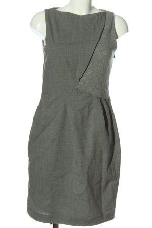 Hugo Boss Woolen Dress light grey casual look