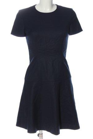 Hugo Boss Wollkleid blau Casual-Look