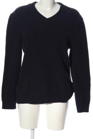 Hugo Boss Wool Sweater black casual look