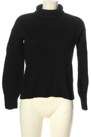 Hugo Boss Wollpullover schwarz Elegant