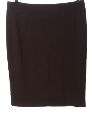 Hugo Boss Wollen rok bruin gestippeld casual uitstraling