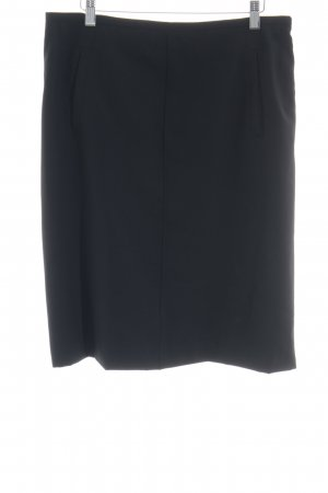 Hugo Boss Wollrock schwarz Business-Look