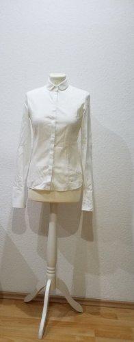 Hugo Boss: wunderschöne neue Bluse mit Bubikragen, Größe 36