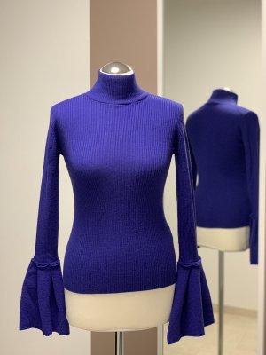 HUGO Damen Pullover mit Volant Ärmel