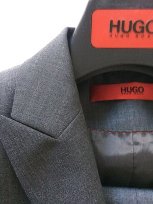 HUGO Hugo Boss Abito business grigio-grigio scuro Lana vergine