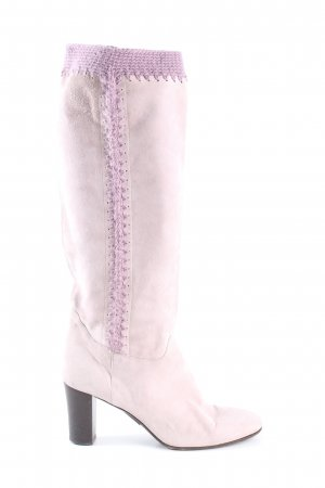 HUGO Hugo Boss Absatz Stiefel pink-lila Elegant