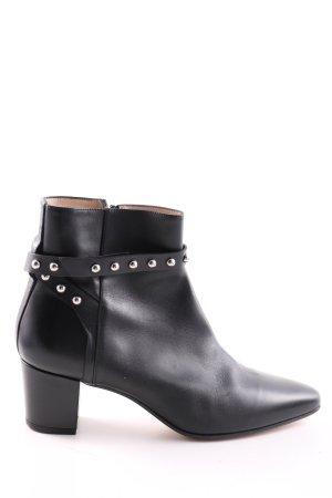 HUGO Hugo Boss Ankle Boots schwarz Business-Look