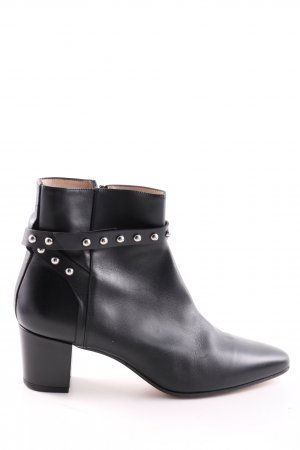 HUGO Hugo Boss Ankle Boots schwarz Business-Look
