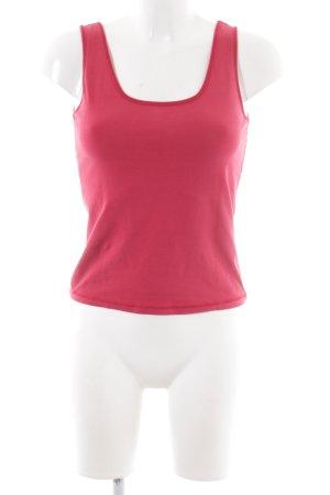 HUGO Hugo Boss Basic Top pink Casual-Look