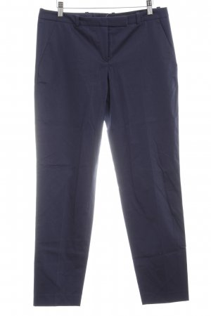 HUGO Hugo Boss Bundfaltenhose dunkelblau Business-Look