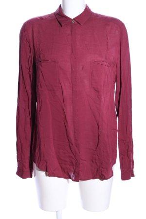 HUGO Hugo Boss Hemd-Bluse pink Business-Look