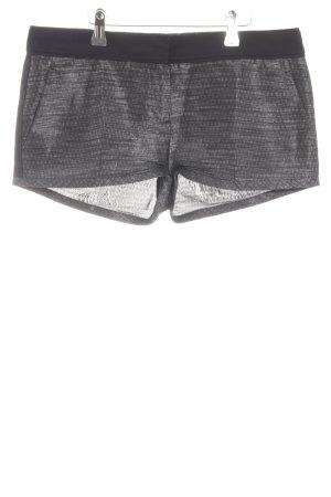 HUGO Hugo Boss Hot Pants hellgrau Casual-Look