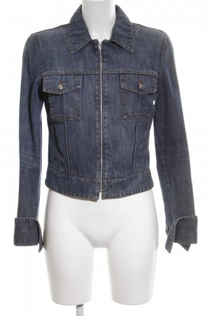 HUGO Hugo Boss Jeansjacke blau Casual-Look