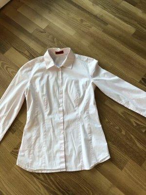 Hugo Boss Blouse-chemisier rosé coton