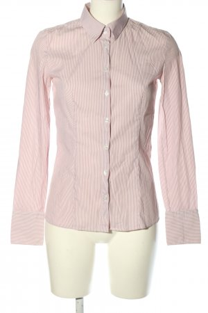 HUGO Hugo Boss Langarmhemd pink Allover-Druck Business-Look