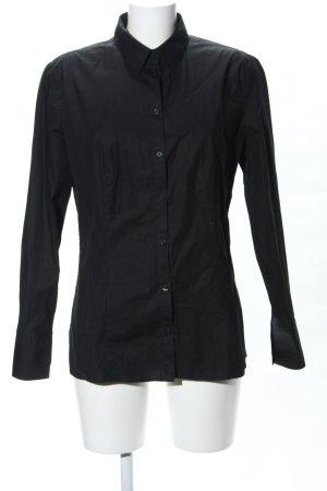 HUGO Hugo Boss Camicia a maniche lunghe nero stile professionale